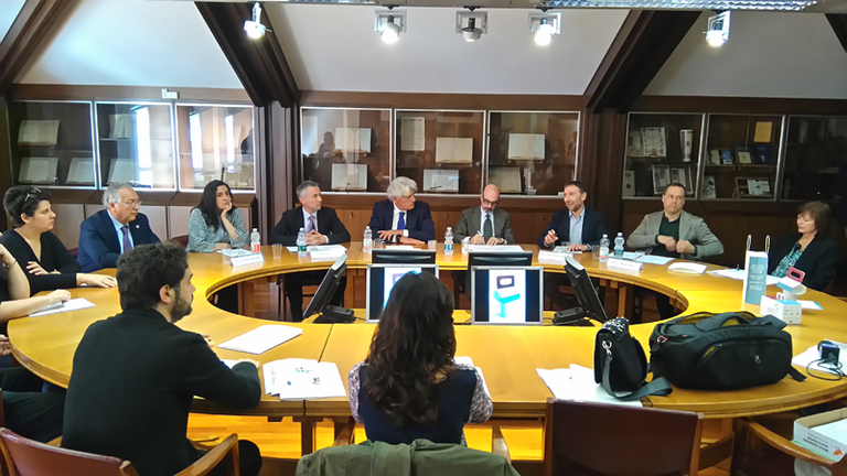 "Conferenza stampa ""Progetto Food Bag"""