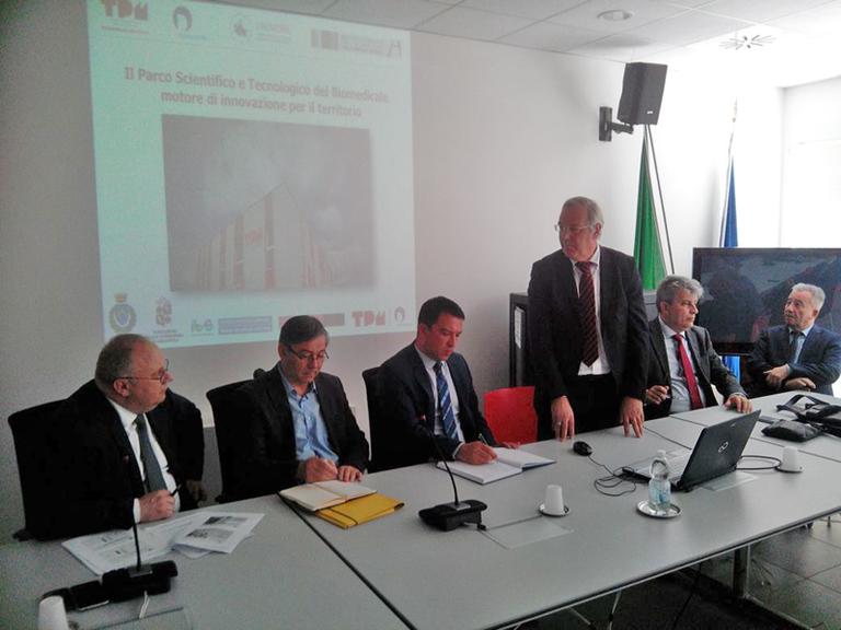 Delegazione del Ministero della Sanità della Republika Srpska di Bosnia Erzegovina - Intervento del Presidente CTS TPM