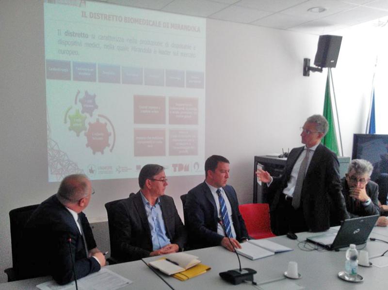 Delegazione del Ministero della Sanità della Republika Srpska di Bosnia Erzegovina - Intervento Democenter Sipe