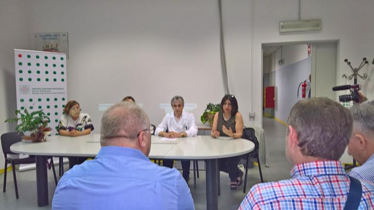 Delegazione del Ministero della Sanità della Republika Srpska di Bosnia Erzegovina - Visita all'Ospedale di Carpi