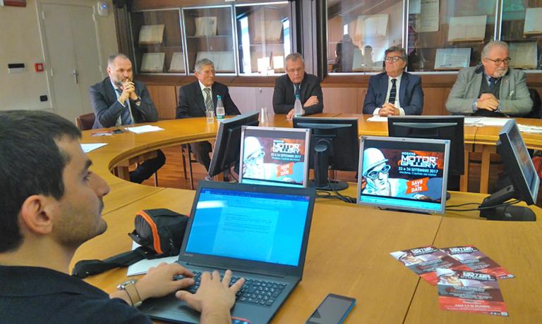 Immagini della conferenza stampa di presentazione di Modena Motor Gallery tenuta alla Camera di Commercio il 20 settembre 2017 - Foto 2