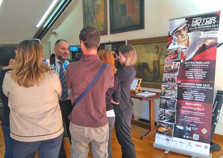 Immagini della conferenza stampa di presentazione di Modena Motor Gallery tenuta alla Camera di Commercio il 20 settembre 2017 - Foto 4