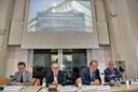 Le prospettive dell'economia italiana - Il tavolo dei relatori