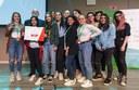 Le studentesse della IV F del Cattaneo Deledda di Modena premiate come miglior mini-impresa nella competizione regionale del 28 maggio a Bologna