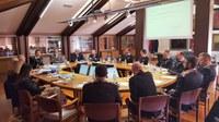 L'incontro tra vertici del Comando provinciale dei Carabinieri e la Giunta camerale