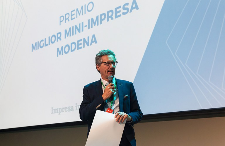 Premio miglior mini-impresa Modena - Presidente Giuseppe Molinari