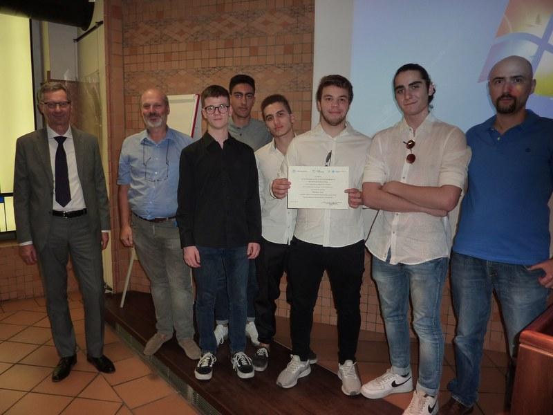 """Premio """"Storie di alternanza"""" 2019 - IIS Corni"""
