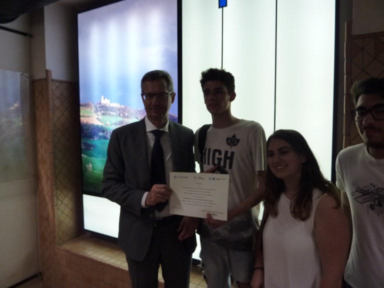 """Premio """"Storie di alternanza"""" 2019 - Istituto Selmi"""