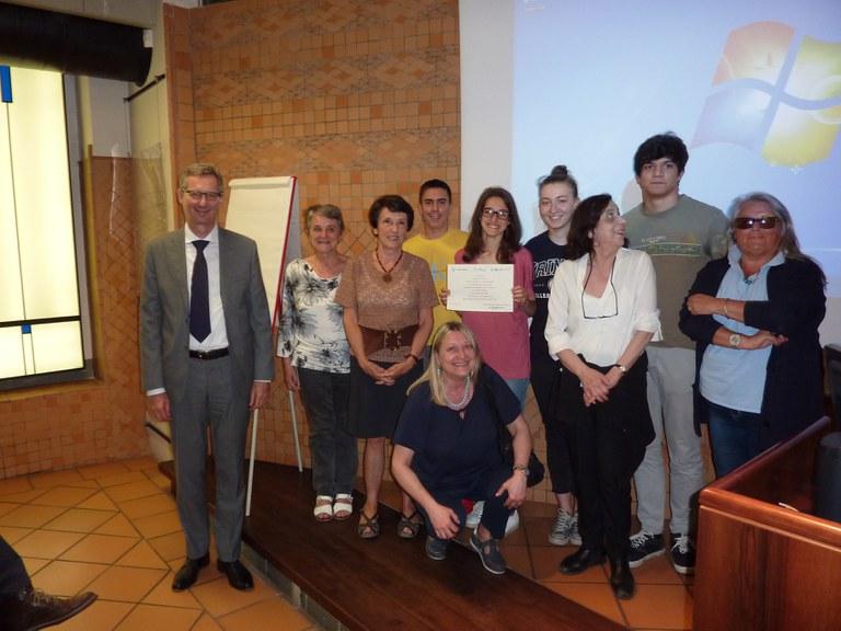 """Premio """"Storie di alternanza"""" 2019 - Liceo Tassoni"""
