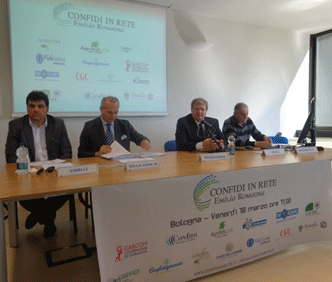 """Presentazione dell'accordo promosso da """"Confidi in Rete Emilia Romagna"""""""
