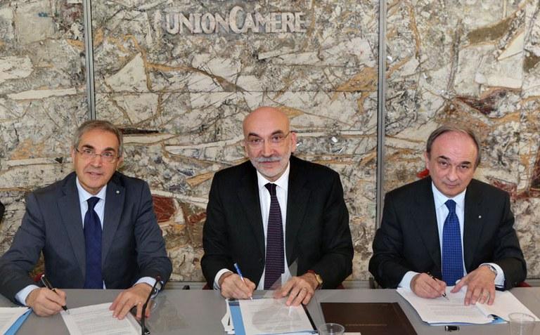 UnionCamere - I 3 Presidenti
