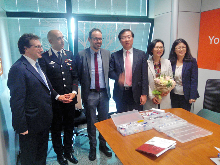 Visita a Modena di una delegazione della Repubblica di Corea - 02