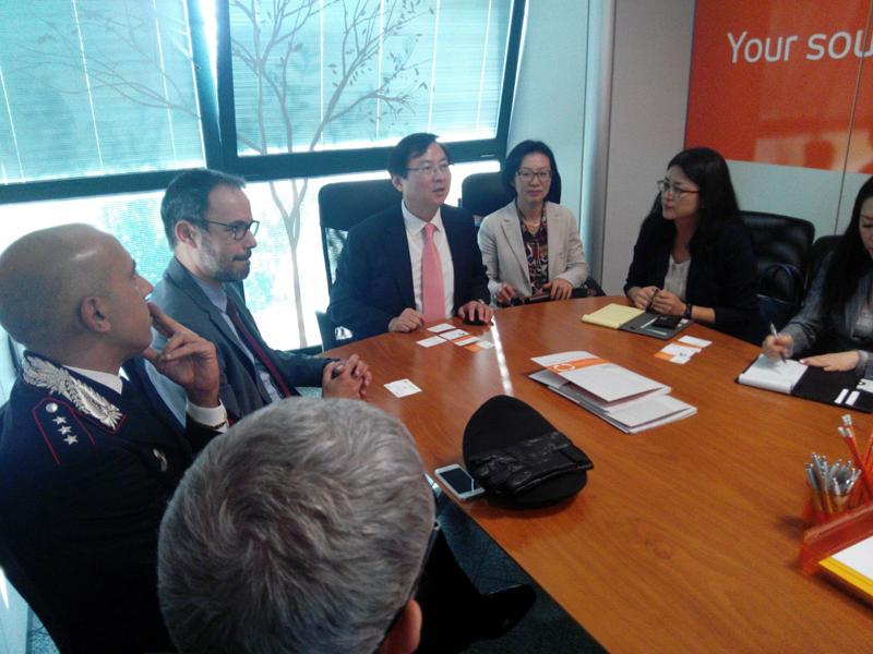 Visita a Modena di una delegazione della Repubblica di Corea - 05
