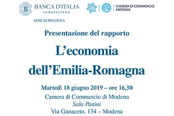 """""""L'economia dell'Emilia-Romagna"""""""