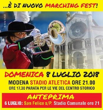 A Modena è di scena la Marchingfest