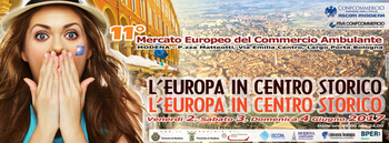 A Modena l'XI Mercato Europeo