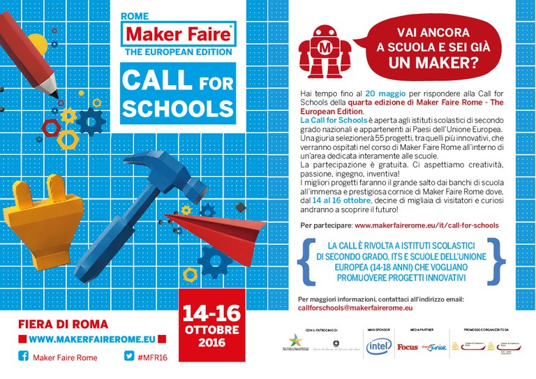 Bando Maker Faire Rome