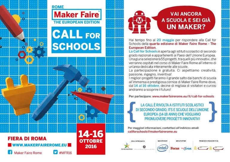 Bando Maker Faire Rome