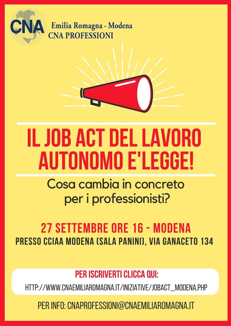 CNA Professioni Modena 27sett