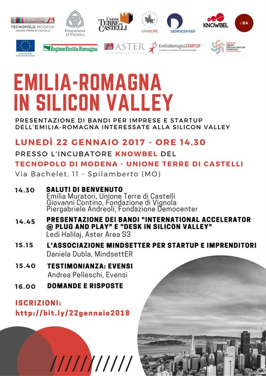 Emilia-Romagna in Silicon valley
