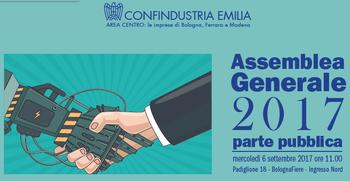 Assemblea generale di Confindustria Emilia Area Centro a Farete2017