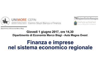Finanza e imprese nel sistema economico regionale