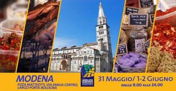 Il Mercato Europeo torna nel centro storico di Modena