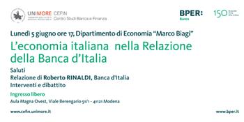 Le prospettive dell'economia italiana