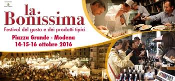 Modena capitale del gusto dal 14 al 16 ottobre