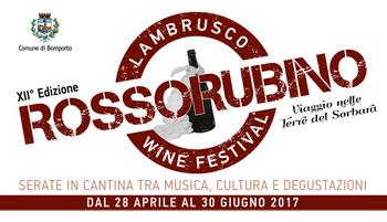 """""""Rosso Rubino"""" il festival dedicato al Lambrusco"""