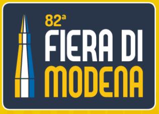 Si riparte con l'82° edizione della Fiera di Modena