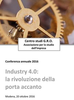 """""""Industry 4.0: la rivoluzione della porta accanto"""""""