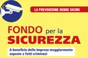 Fondo Sicurezza 2020: per la prima volta aderisce anche il Comune di Riolunato