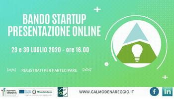Bando GAL a sostegno delle startup