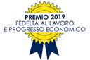 """Premio """"Fedeltà al lavoro e progresso economico"""" anno 2019"""