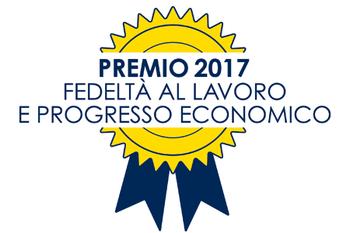 """Premio """"Fedeltà al lavoro e progresso economico"""" anno 2017"""