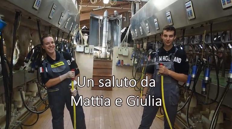 """Video """"Alternanza in allevamento zootecnico"""" dell'IIS L. Spallanzani - Frame 05"""