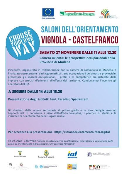 Vignola e Castelfranco Emilia