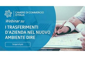 Webinar per i notai - I trasferimenti d'azienda per il nuovo ambiente DIRE