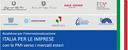 Roadshow per l'internazionalizzazione Italia per le imprese con le PMI verso i mercati esteri