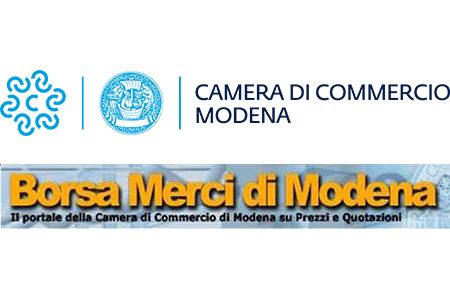 Listino della Borsa Merci di Modena di lunedì 20/09/2021